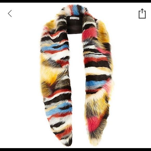 9aa0e7ae9849 River Island multicolored faux fur stole. M 5b4b479f25457aa0338417e5